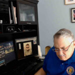 Michael Cowger in his office